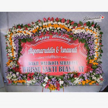 bunga papan - BP WEDDING 003