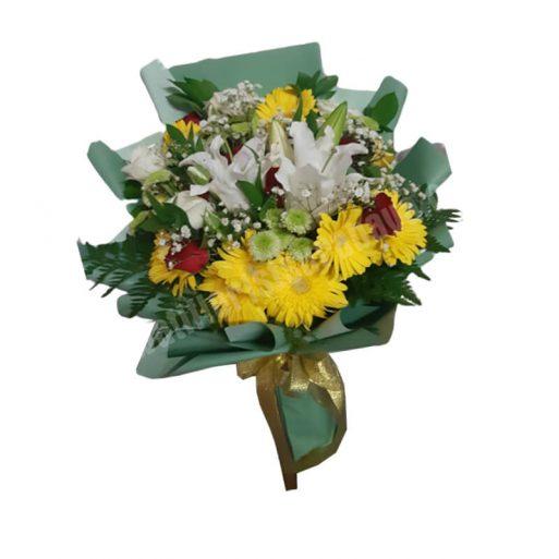 hand bouquet - Romantis 001 Alternatif 2