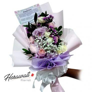 hand bouquet - Romantis 002 Alternatif 4