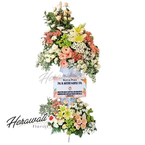 bunga duka cita - Standing Flower 007