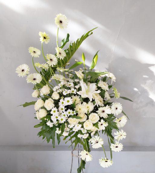 bunga duka cita - Standing Flower 004