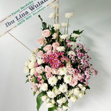 bunga duka cita - Standing Flower 006