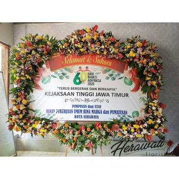 bunga papan - BUNGA PAPAN 019