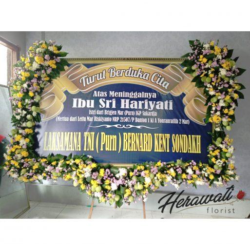 bunga duka cita - BUNGA PAPAN 020