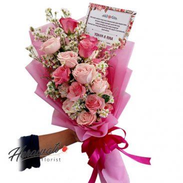 hand bouquet - Hand Bouquet Artificial 001