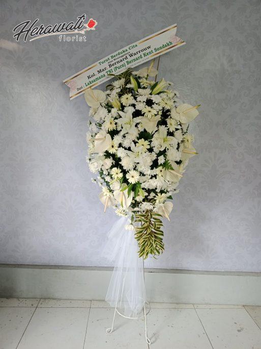 Bunga Duka Cita - Standing flower 015