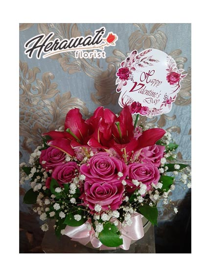 Bunga Lekas Sembuh - Bouquet Segar 023