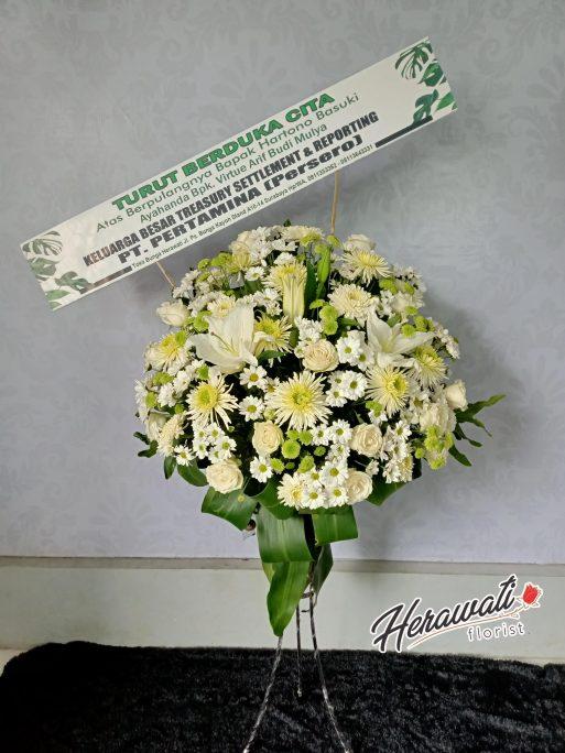 Bunga Duka Cita - Standing Flower 017