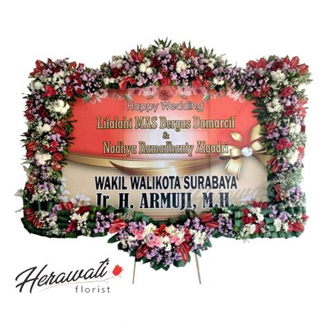 bunga duka cita - BUNGA PAPAN 018