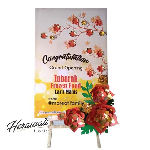 bunga artificial - Bunga Papan Kertas